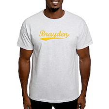 Vintage Brayden (Orange) T-Shirt