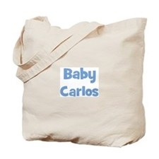 Baby Carlos (blue) Tote Bag