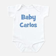 Baby Carlos (blue) Infant Bodysuit