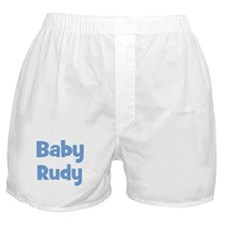 Baby Rudy (blue) Boxer Shorts