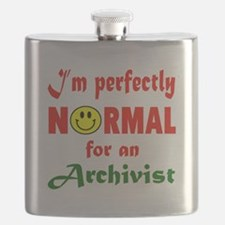 I'm Perfectly normal for an Archivist Flask
