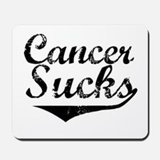 Cancer Sucks (Black) Mousepad