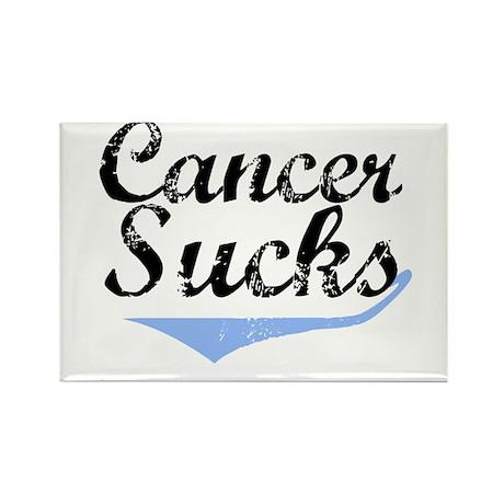 Cancer Sucks (Prostate) Rectangle Magnet