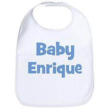 Baby Enrique (blue) Bib