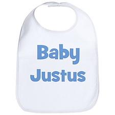 Baby Justus (blue) Bib