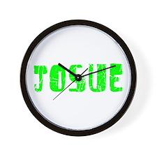 Josue Faded (Green) Wall Clock