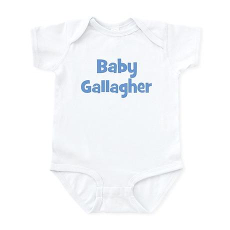 Baby Gallagher (blue) Infant Bodysuit