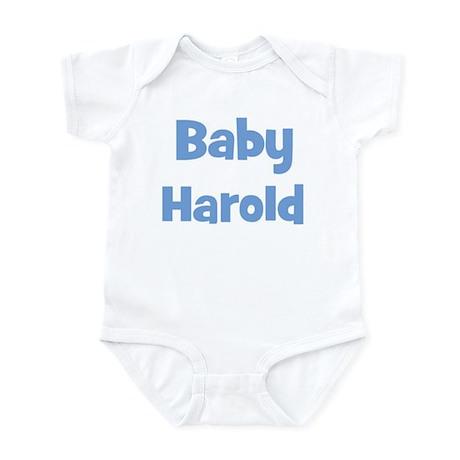 Baby Harold (blue) Infant Bodysuit