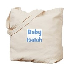 Baby Isaiah (blue) Tote Bag