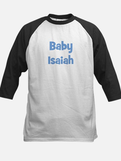 Baby Isaiah (blue) Kids Baseball Jersey