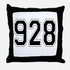 928 Throw Pillow