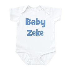 Baby Zeke (blue) Infant Bodysuit