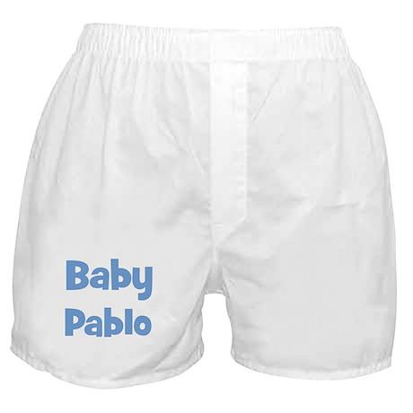 Baby Pablo (blue) Boxer Shorts