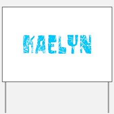 Kaelyn Faded (Blue) Yard Sign