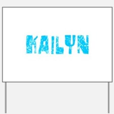 Kailyn Faded (Blue) Yard Sign