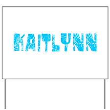 Kaitlynn Faded (Blue) Yard Sign