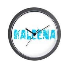 Kaleena Faded (Blue) Wall Clock