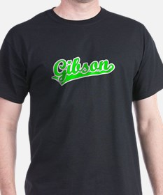 Retro Gibson (Green) T-Shirt