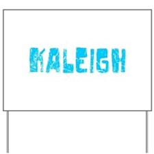 Kaleigh Faded (Blue) Yard Sign