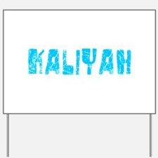 Kaliyah Faded (Blue) Yard Sign
