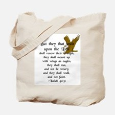 """But They That Wait ..."" Tote Bag"