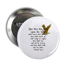 """""""But They That Wait ..."""" 2.25"""" Button (10 pack)"""