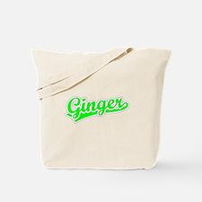 Retro Ginger (Green) Tote Bag