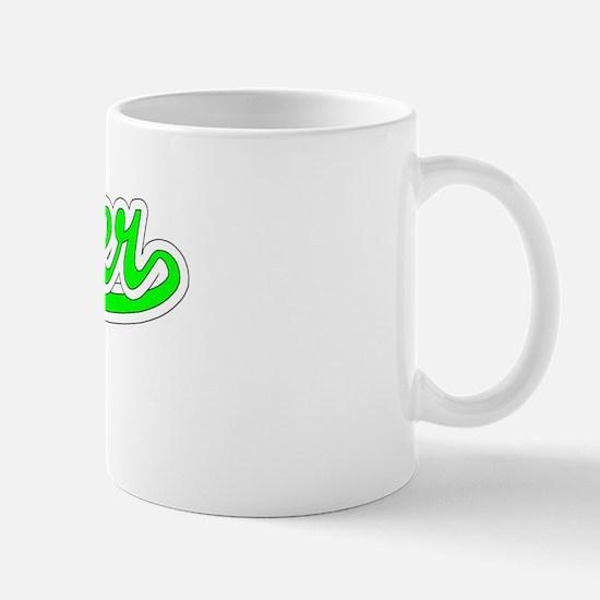 Retro Ginger (Green) Mug