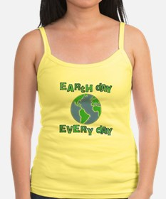 Earth Day Every Day Jr.Spaghetti Strap