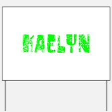 Kaelyn Faded (Green) Yard Sign