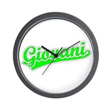 Retro Giovani (Green) Wall Clock