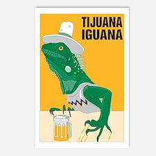 Tijuana Iguana Postcards (Package of 8)