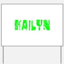 Kailyn Faded (Green) Yard Sign