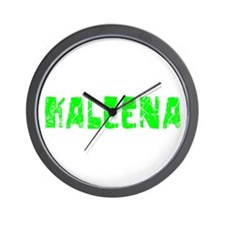 Kaleena Faded (Green) Wall Clock