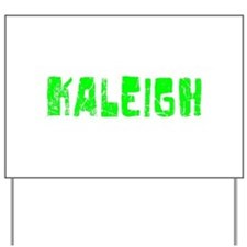 Kaleigh Faded (Green) Yard Sign
