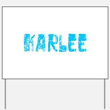 Karlee Faded (Blue) Yard Sign