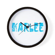 Karlee Faded (Blue) Wall Clock
