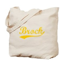 Vintage Brock (Orange) Tote Bag