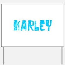 Karley Faded (Blue) Yard Sign