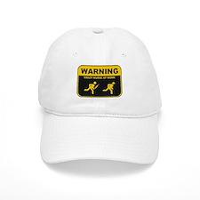 WARNING CRAZY NURSE AT WORK Baseball Cap