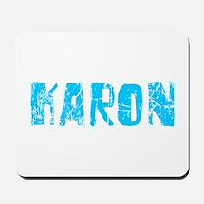 Karon Faded (Blue) Mousepad