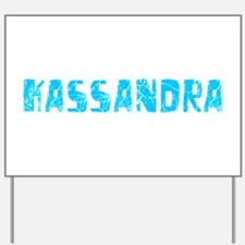 Kassandra Faded (Blue) Yard Sign