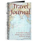 Travel Journals & Spiral Notebooks