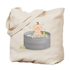 Bathtime Baby Tote Bag