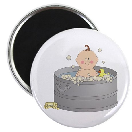 """Bathtime Baby 2.25"""" Magnet (10 pack)"""