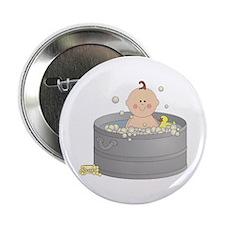 """Bathtime Baby 2.25"""" Button"""