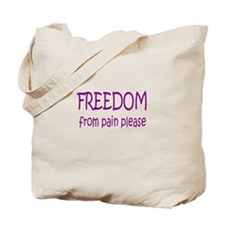 Cute Fibromyalgia Tote Bag