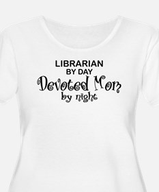 Librarian Devoted Mom T-Shirt