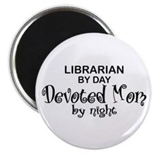 Librarian Devoted Mom Magnet