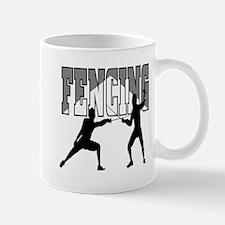 Fencing Logo (Black & Grey) Mug